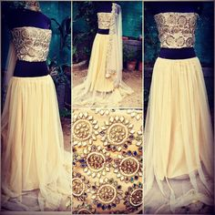 Shruti Hasan Bollywood Designer Lehenga Choli  Product Info ; Net princess style mirror work crop top  Dupatta : net with *real mirror *work border  Lengha : soft net with *5 meter flair* Blouse - complete mirror work with Santoon  Fabric till -48 bust size  Semi stitched  Weight -1 kg approx  Sale Price : 2700 INR Only ! #Booknow  CASH ON DELIVERY Available In India !  World Wide Shipping ! ✈  For orders / enquiry 📲 WhatsApp @ +91-9054562754 Or Inbox Us , Worldwide Sh..