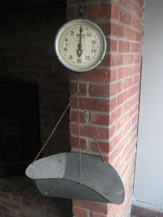 Vintage Hanging Scale Antique Produce Scale by RiverHouseDesigns