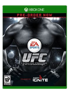 Ufc by Electronic Arts Xbox One Video Games, Xbox 360 Games, Playstation Games, Cain Velasquez, Ufc, Microsoft, Sony, Electronic Arts, Nintendo
