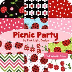 Picnic Part by Pink Light Design for Robert Kaufman