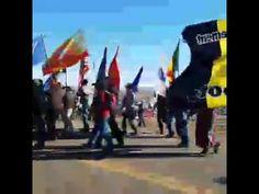 Veterans March at Standing Rock Oceti Sakowin Camp #NoDapl