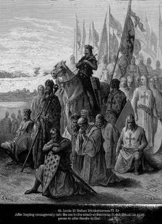 Richard The Lionheart in battle at Arsuf in the 3rd crusade 1187 1192