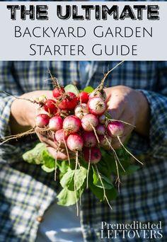 The Ultimate Backyard Garden Starter Guide