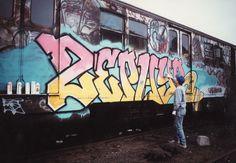 10 NEW YORK GRAFFITI LEGENDS STILL KICKING (ASS) - ZEPHYR http://www.widewalls.ch/10-new-york-graffiti-legends-still-kicking-ass/zephyr/ #graffitilegends #NYC #Zephyr