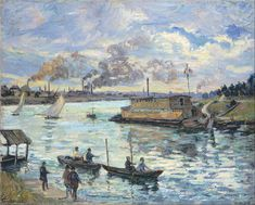 Armand Guillaumin lifelong friendships (Cézanne) and (Pissarro) . In 1886 he became a friend of (Vincent van Gogh).