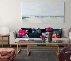 Dicas para escolher as almofadas da sala, com tecidos nobres e modelos atuais. Assim eu gosto: arquitetura, decoração, design e moda.