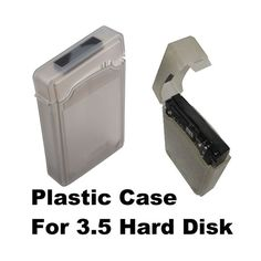 High Quality Gray Color 3.5 Inch IDE Hard Drive Enclosure Tank Case US