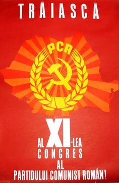 (Long) Live PCR of the congress of the Romanian Communist Party circa : PropagandaPosters Socialist State, Socialism, Romanian People, Post Contemporary, Communist Propaganda, Central And Eastern Europe, Soviet Union, Image Macro, Text Posts