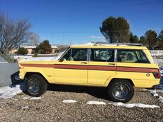"We all ride in a yellow Wagoneer. ""@WaggyFan4Life: Yellow = YES #Wagoneer http://flagstaff.craigslist.org/cto/4830865754.html … "" @JeepCoach #jeepmafia"