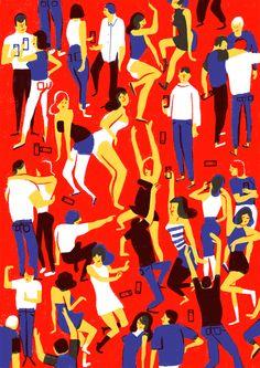- crowd - on Behance