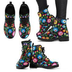 Floral women's boots