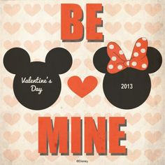 Valentine's Day at Disney Parks