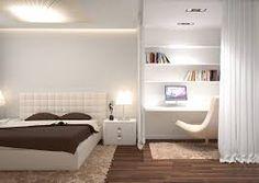 Картинки по запросу дизайн маленькой спальни-кабинета