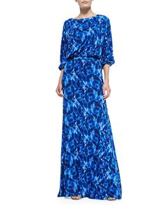 T8WBJ Rachel Pally Aurora Printed Maxi Dress, Women's