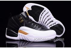 http://www.jordannew.com/2017-mens-air-jordan-12-black-white-metallic-gold-for-sale-free-shipping.html 2017 MENS AIR JORDAN 12 BLACK/WHITE/METALLIC GOLD FOR SALE FREE SHIPPING Only 86.92€ , Free Shipping!
