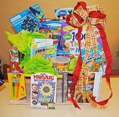 arts and crafts gift basket ideas arts and crafts gift basket great for auction 7442