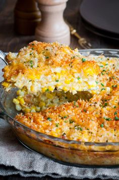 Cheddar Sweet Corn Pie