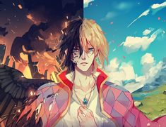 Studio Ghibli Art, Studio Ghibli Movies, Miyazaki, Castle Movie, Howl Pendragon, Howl And Sophie, Castle Illustration, Dark Souls Art, Anime Drawings Sketches