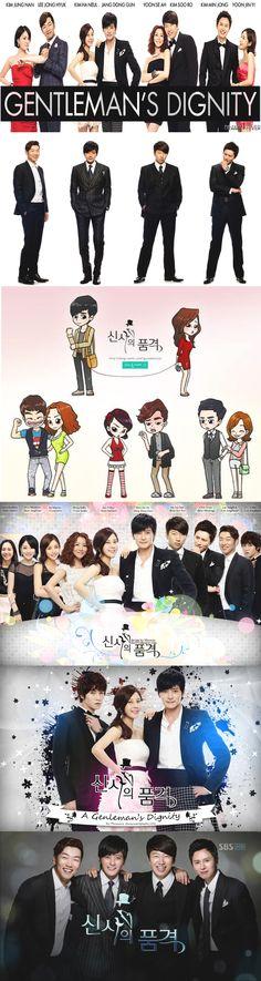 A Gentleman´s Dignity (신사의 품격) kdrama 2012 - 20 episodes - Jang Dong-gun / Kim Ha-neul / Kim Min-jong / Kim Su-ro / Lee Jong-hyuk