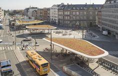 Estação Nørreport / Gottlieb Paludan Architects  + COBE Architects, © Gottlieb Paludan Architects