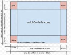 1000 images about moises para bebes on pinterest bebe for Medida estandar de colchon de una plaza