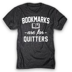 Bookmarks are for quitters!