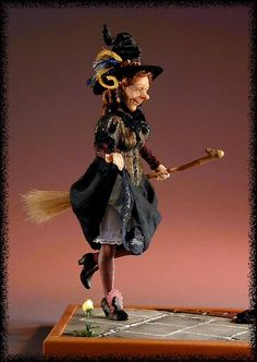 Hop Scotch Witch by Creager Studios  She is one of my fav....but still think the white bird you showed us at meeting was best!
