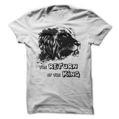 The Return OF The King T Shirts, Hoodie. Shopping Online Now ==► https://www.sunfrog.com/No-Category/The-Return-OF-The-King-White.html?41382