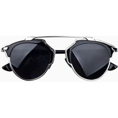 Metal Bridge Sunglasses With Silver Frames (505 MXN) ❤ liked on Polyvore featuring accessories, eyewear, sunglasses, glasses, choies, silver aviator sunglasses, metal glasses, silver sunglasses, oakley sunglasses and silver glasses