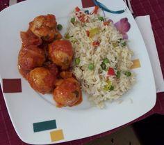 Σουτζουκάκια κοτόπουλο με ριζότο #soutzoukakiakotopoulo #rizoto #iposhesi #cookpadgreece