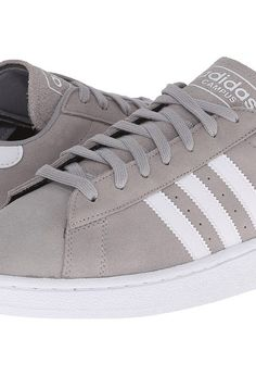 adidas Originals Campus (Medium Grey Heather/Solid Grey/White) Men's Classic Shoes - adidas Originals, Campus, D70182, Footwear Athletic Classic, Classic, Athletic, Footwear, Shoes, Gift, - Fashion Ideas To Inspire