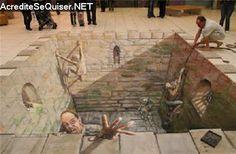 Imagens 3D: Pinturas tridimensionais