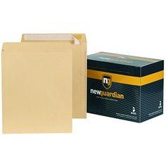 New Guardian Manilla Peel And Seal Envelopes - Non-Standard Envelopes Envelopes, Seal, Office Supplies, Harbor Seal
