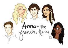 Left to right- Josh, Meredith, Étienne (St. Clair), Anna, Rashmi