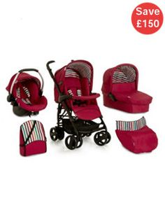 View details of Hauck Condor All in One Travel System - Chilli