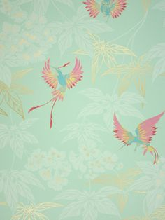 WallpaperSales (Just Wallpapers Ltd) Osborne & Little Wallpaper Album 5 Grove Garden - W5603-02 Pattern