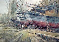 Direk Kingnok watercolor