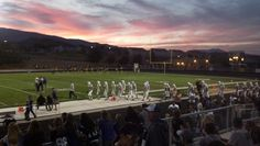 A reader submitted this photo that was taken at Galena High School as the Spanish Springs Cougars walked onto Galena's field for their football game in September 2012.