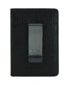 Kartenetui Hugo Boss Timeless Money schwarz Geldklammer - Bags & more Hugo Boss, Fitbit, Black
