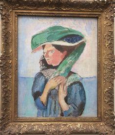 """Retrato de Dama"" Edvard Munch -Kunsthaus Zürich"