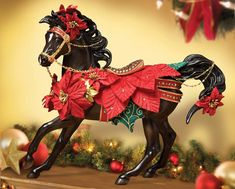 Holiday Breyer horses are so fun to collect. They're like Pokemon, gotta catch them all!