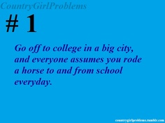 I can see this being me coming from a super small school;)
