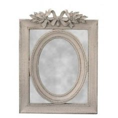 Very beautiful scenery with its rectangular carved decorations ribbon bows, Louis XVI style, of great beauty to beautify the room of your choice. This beautiful mirror is closed pares wall mount and has a beautiful grey patina.