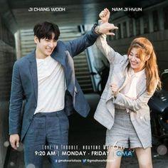 "Ji Chang Wook y Nam Ji Hyun en el set de ""Suspicious Partner"" Korean Actresses, Korean Actors, Korean Dramas, Suspicious Partner Kdrama, Moorim School, Drama Funny, I Love Cinema, Web Drama, W Two Worlds"