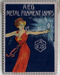 Turn of the century bulbs Poster Stamp