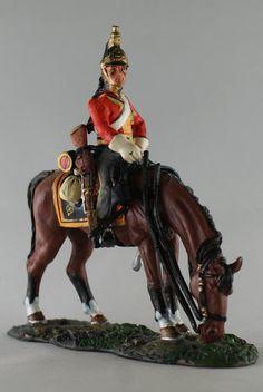 Кавалерист 1 го полка Британских Королевских Драгун. 1814 г. Del Prado Cavalry №106
