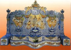 Sintra Antique Handpainted, Portuguese, Tiles--just beautiful!