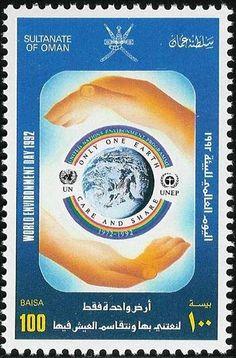 Stamp: World Environment Day (Oman) Mi:OM 360