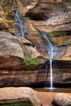 Cedar Falls, Hocking Hills in Ohio, USA