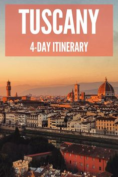 Tuscany is one of the most beautiful and popular regions in Italy. Find out how to spend 4 days in Tuscany, including visits to Pisa, Siena and Florence.